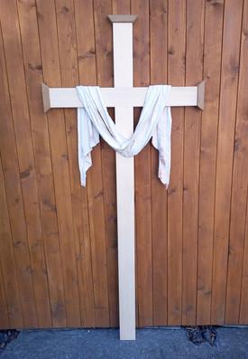 Kreuz mit Abnahmetuch
