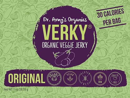 Verky® Organic Veggie Jerky, Original Flavor