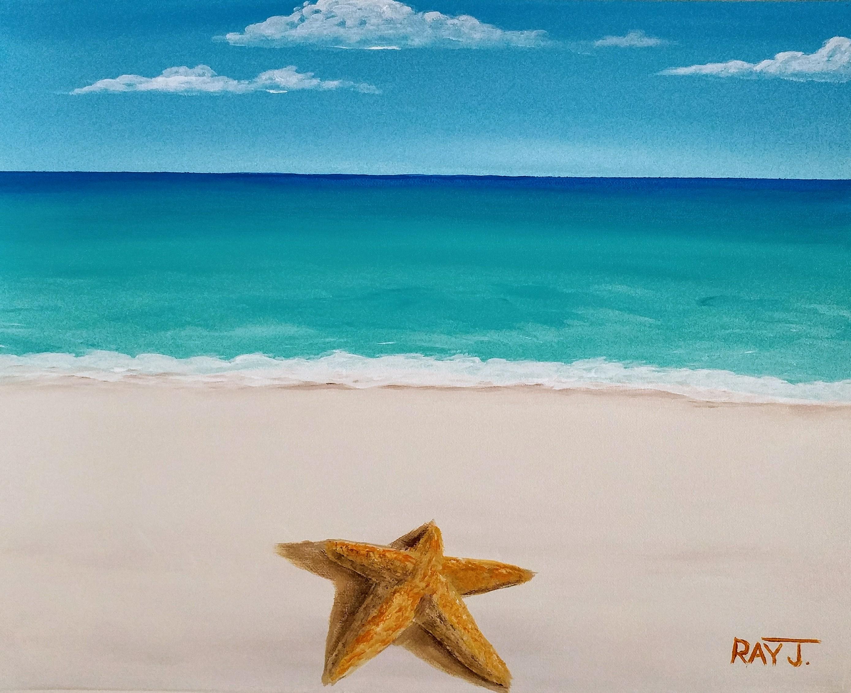 STAR ON MY BEACH