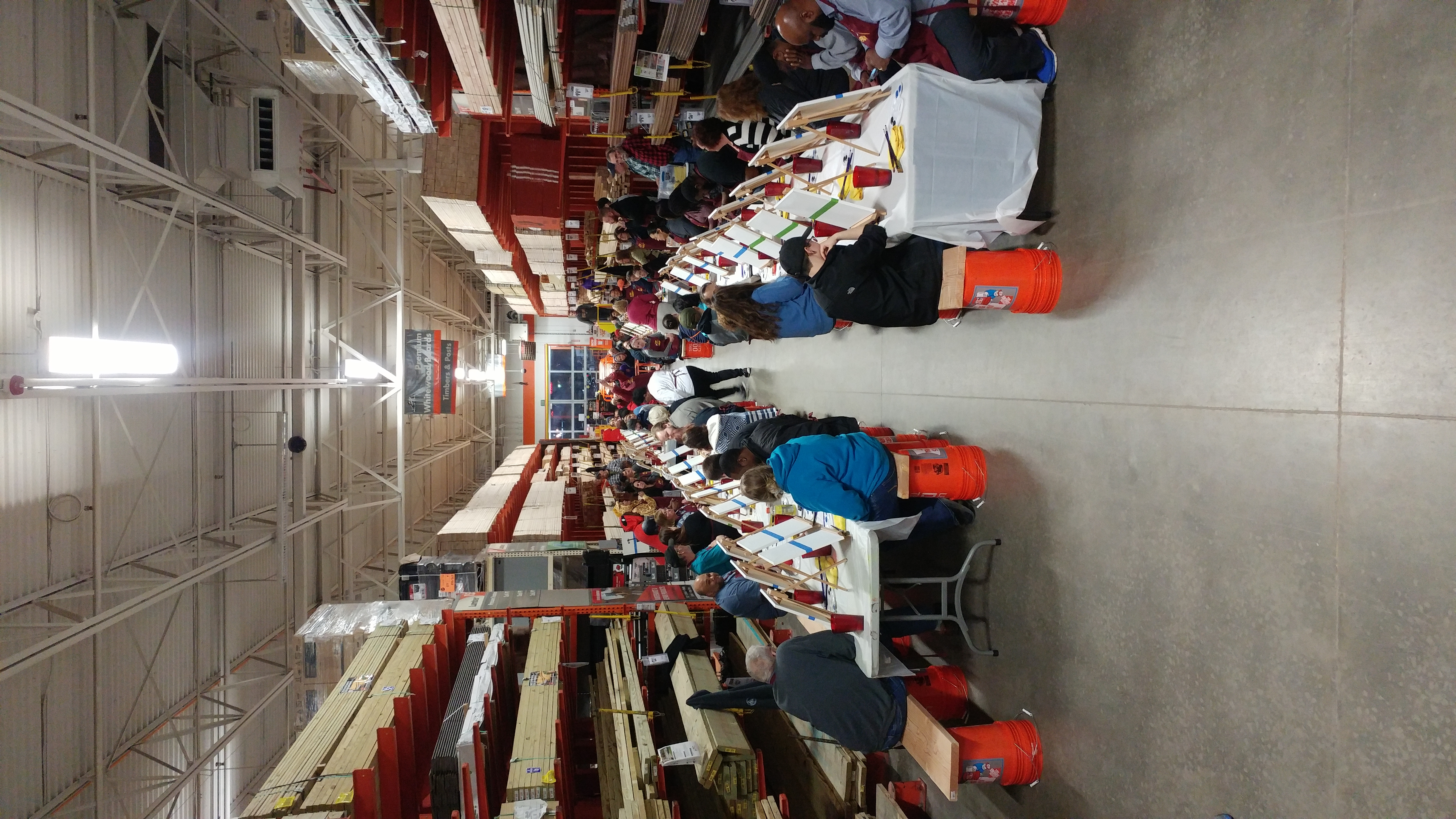 Home Depot Party