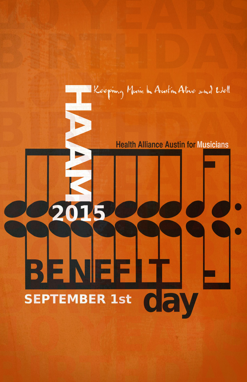 HAAM 10years benefit poster 11 x 17 1333