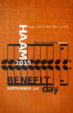 HAAM 10years benefit poster 11 x 17 1333
