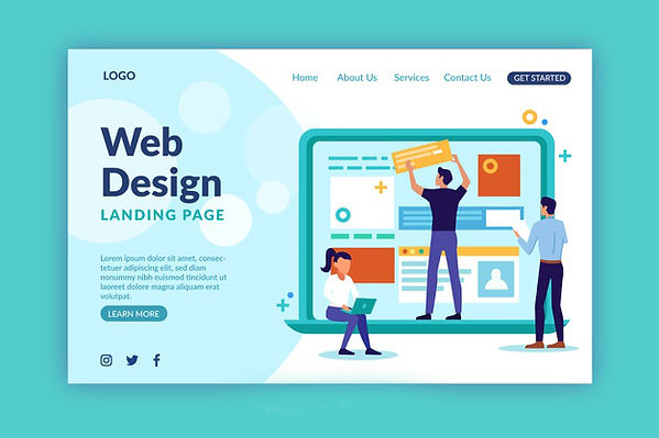web-design-landing-page-template_52683-1