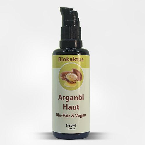 Arganöl Haut 50 ML mit Pumpverschluss schwarz inkl Kappe ( 29.80 Euro/ 100 ML)