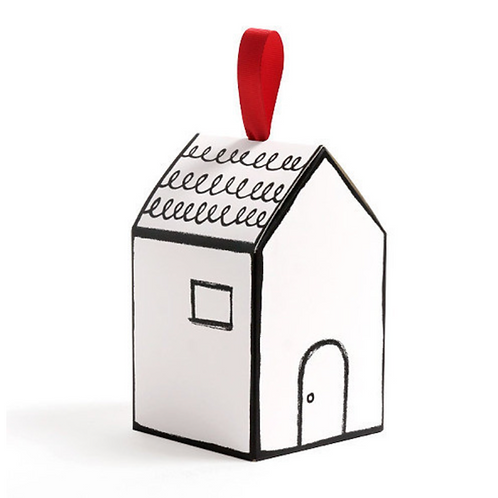 Gift box - Cottage house (V) - Set of 10 pcs