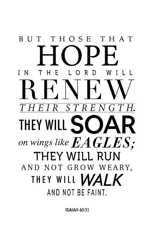 Quote {Isaiah 40:31}