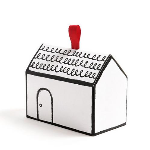 Gift box - Cottage house (H) - Set of 10 pcs