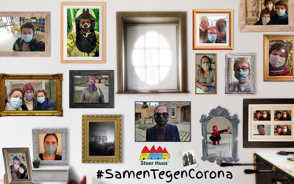 #SamenTegenCorona - Klik om te vergroten