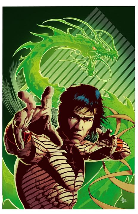 """""""The Way of the Dragon"""" by Mike Deodato"""