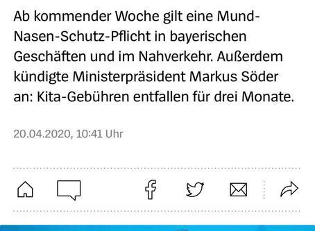 Maskenpflicht in Bayern?