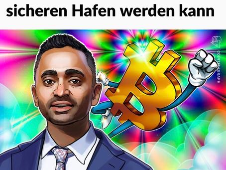 Thema Chance Bitcoin und Corona.