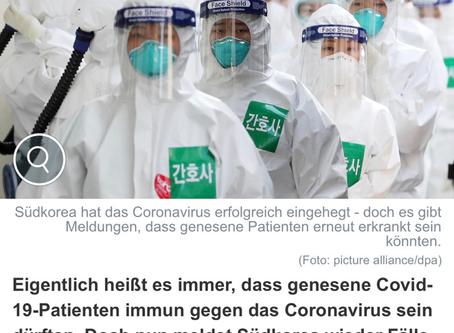 Fälle Von Wiederinfektion?