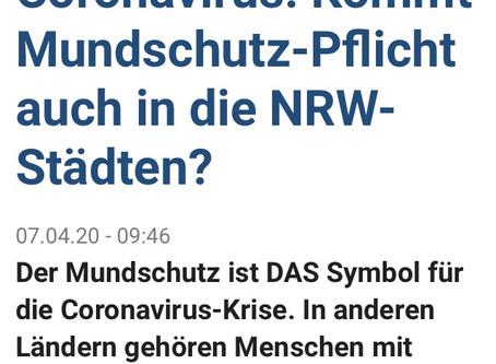Kommt Mundschutzpflicht in NRW?