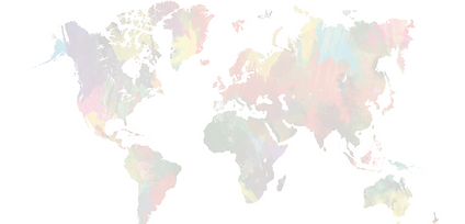 faded map of the world