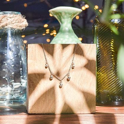 mara select collier tendance plaqué or