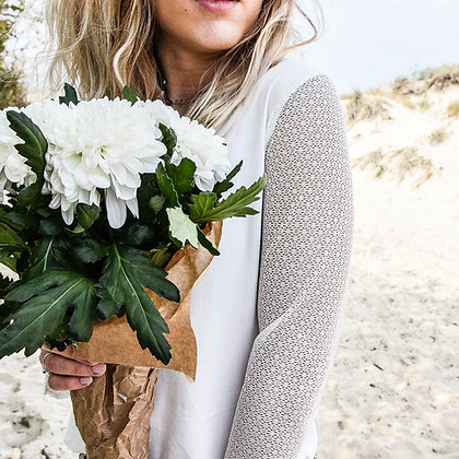 mara select blouse blanche dentelle