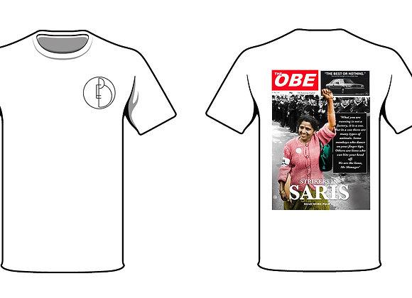 OBE 'Strikers in Saris' Shirt