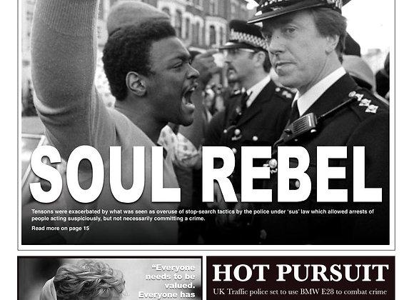 Soul Rebel - Sticker