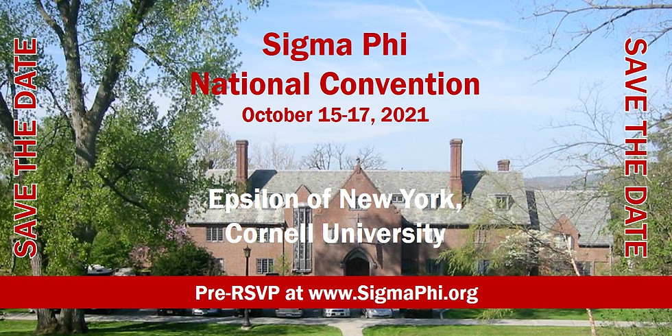 Sigma Phi National Convention