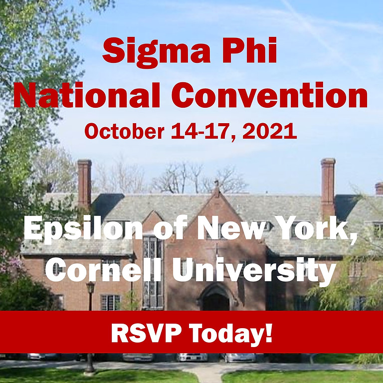 Sigma Phi Society 2021 National Convention