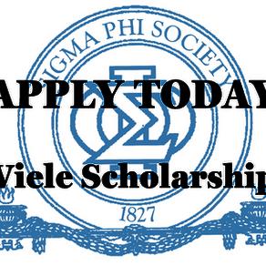 Viele Scholarship Announcement