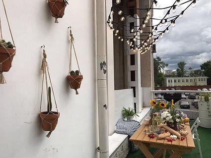 Вечеринка на балконе Дома ОТ УМА
