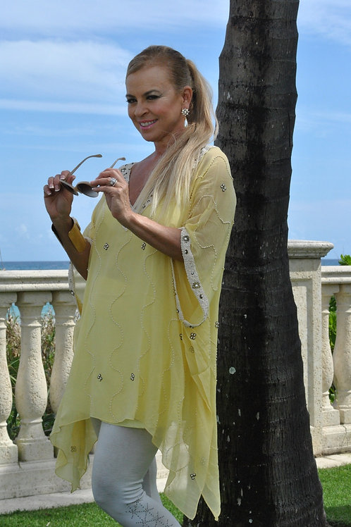 Yellow Goddess Tunic SOLD OUT