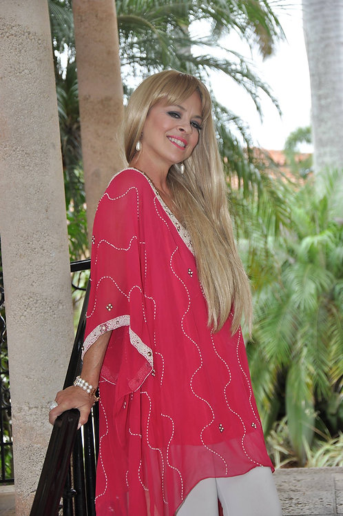 Coral Goddess Tunic SOLD OUT