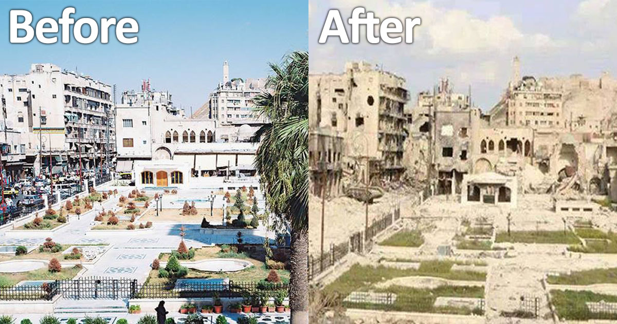 Before & After NATO
