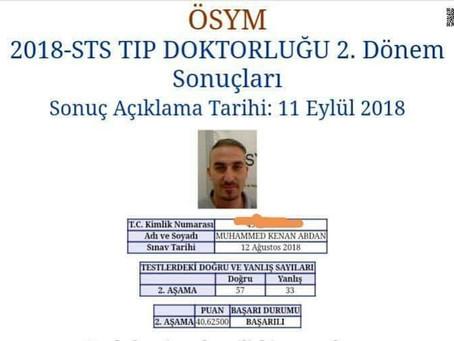 كيف نجحت في إمتحان المعادلة التركية (د.محمد كنان)؟