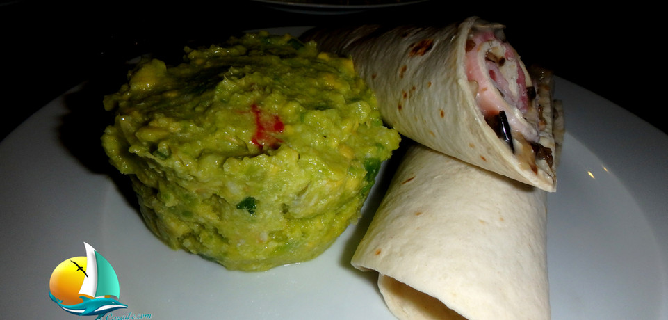 wraps guacamole