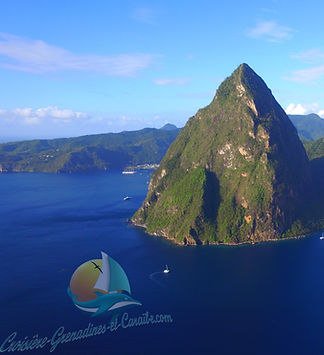Pitons Ste Lucie, Croisiere Grenadines