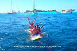 Paddle fun, croisiere grenadines