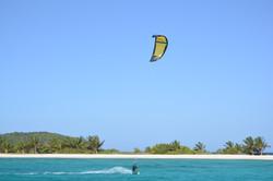 Kite Grenadines, catamaran kite