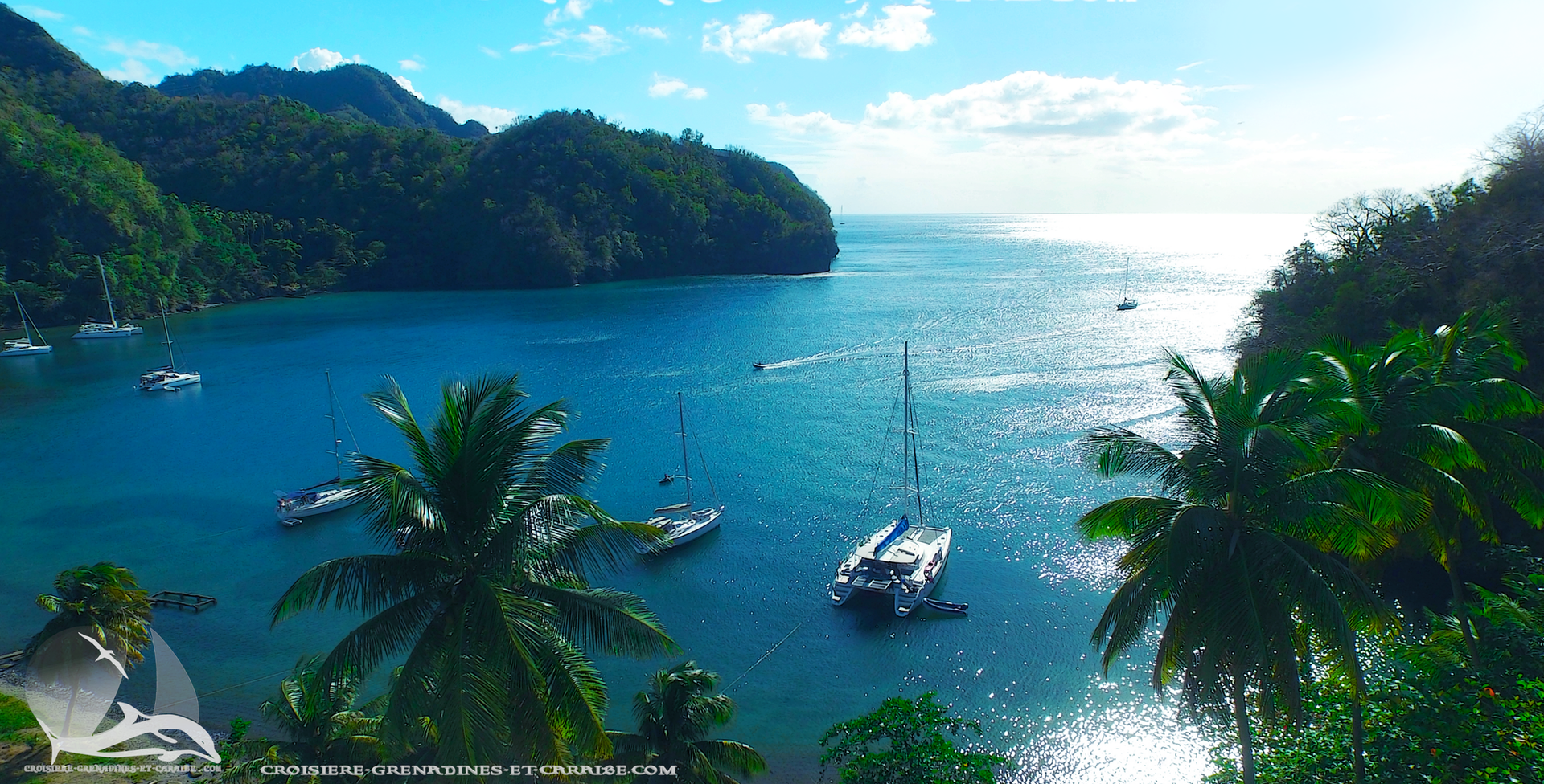Cumberland, Saint vincent, Saint Vincent et les Grenadines , croisiere Grenadines