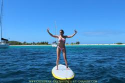 Yoga paddle, croisiere zen, relax