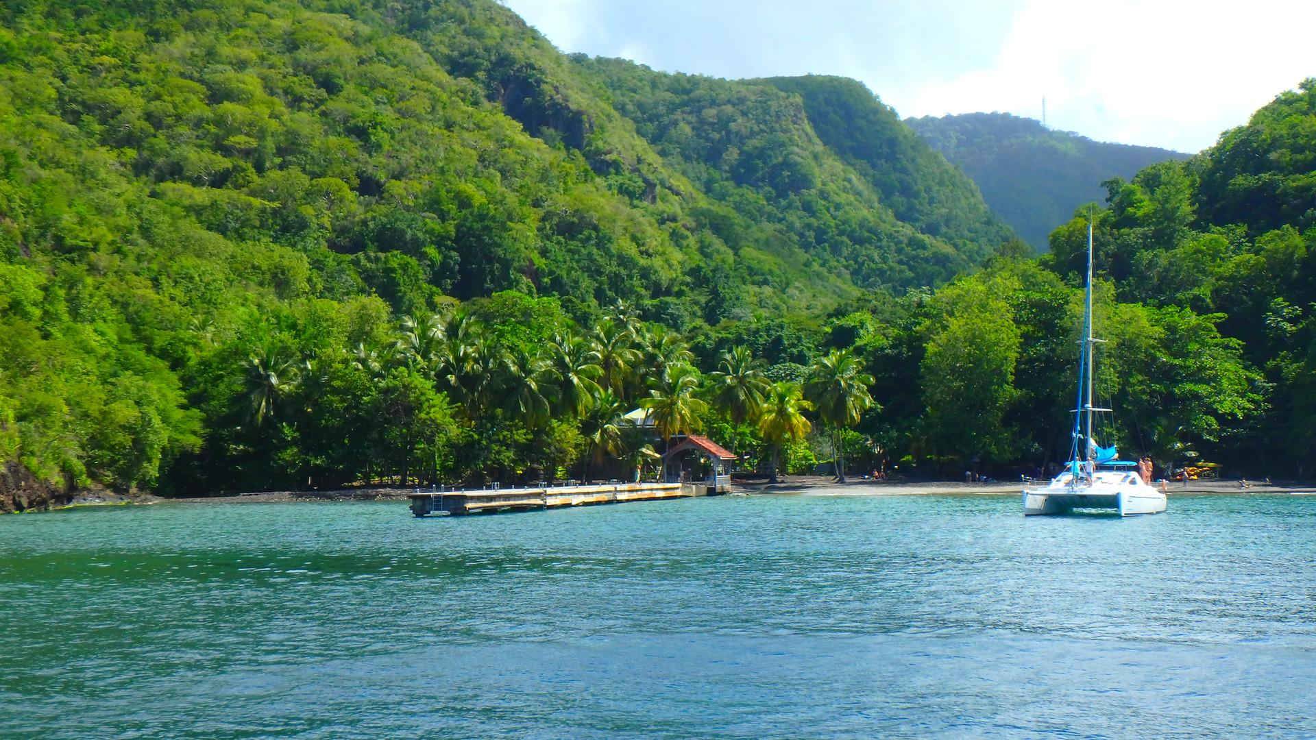 Anse Noire, trois ilets, Martinique, Croisiere Martinique