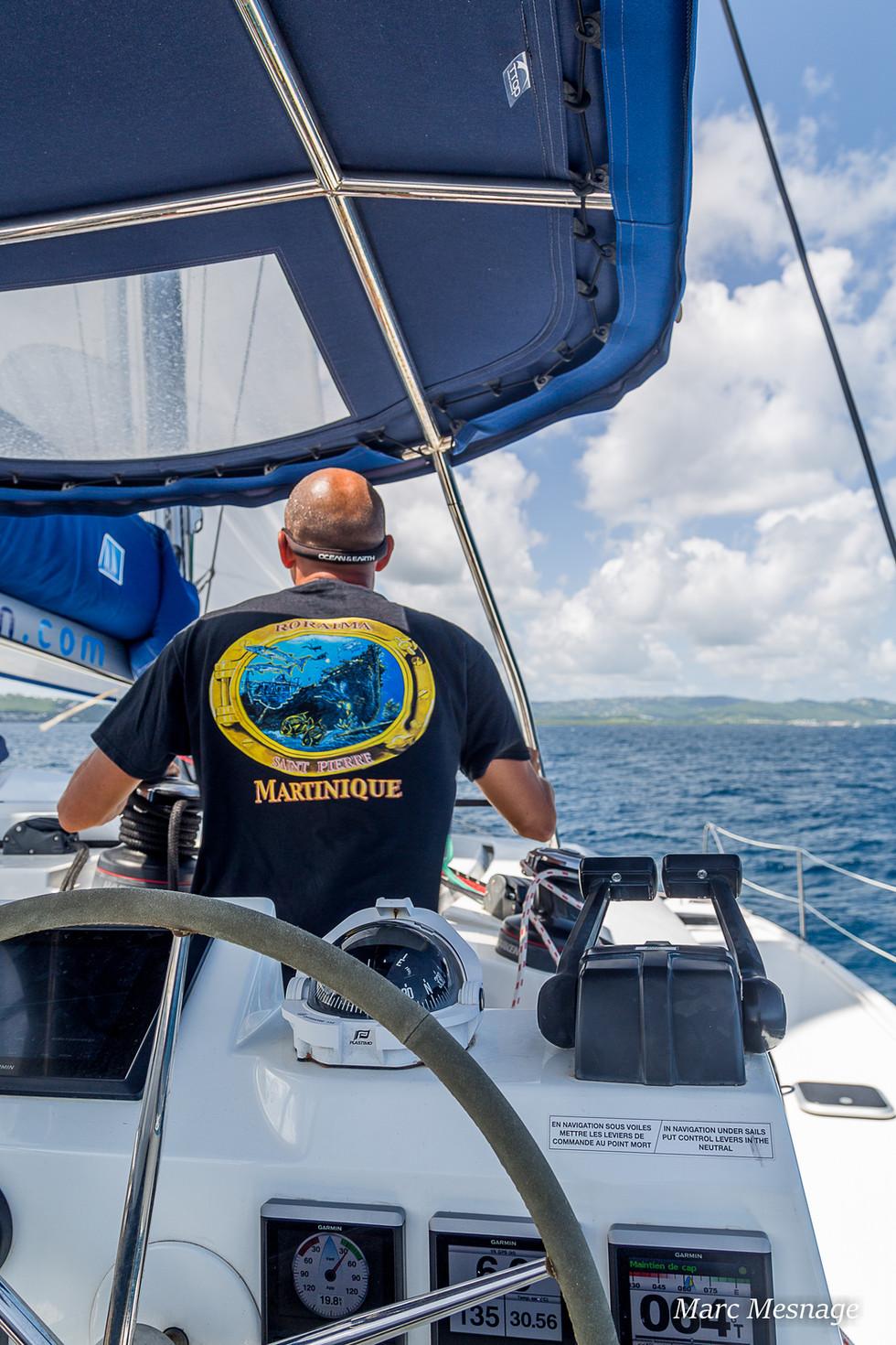Alex Skipper Martinique, croisiere Martinique, catamaran Martinique