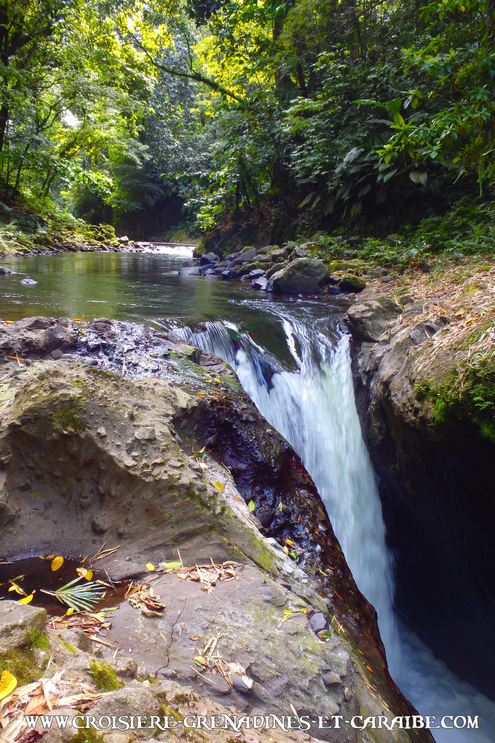 Saut Babin , Martinique, Cascade