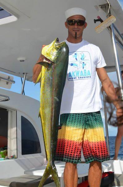 Dorade Coryphène, pêche au gros