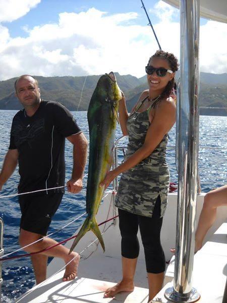 dorade coryphène, voyage de pêche