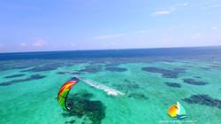 Kite, Grenadines, catamaran kite