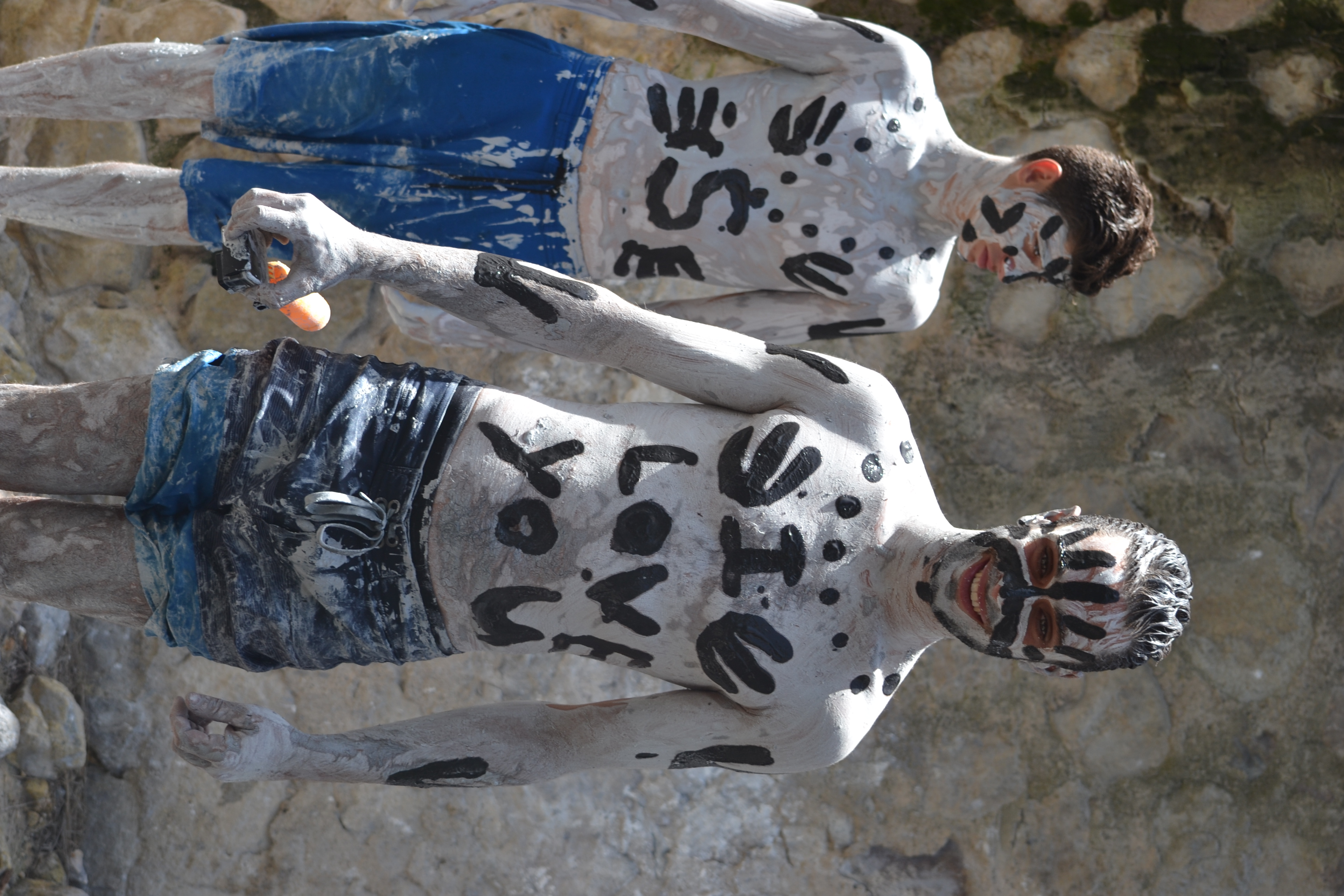 Bain de  boue, croisiere Grenadines