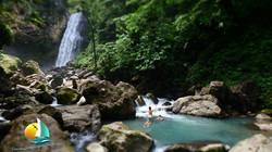 waterfall, croisiere Grenadines