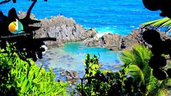 Owia salt Pond, croisiere Grenadines