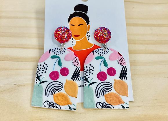 The Cherry Lemon Drop Earrings