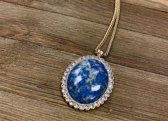 Crown Jewel Lapis Pendant