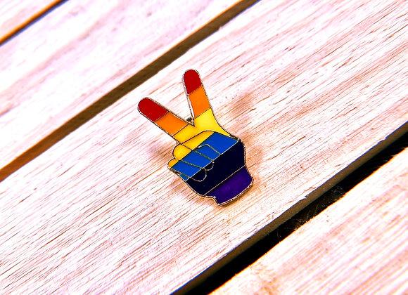 Peace & Pride Pin