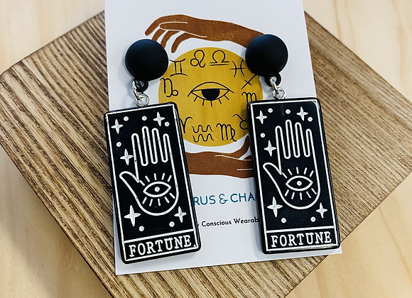 The Fortune Tarot Earrings