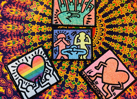 Keith Haring Patch